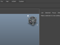Free Companion Cube in the Maya 2011 User Interface for Maya 1.0.0 (maya script)