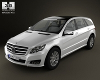 Mercedes-Benz R class 2011 3D Model