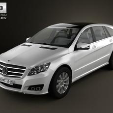 Mercedes-Benz R class 2011 3D Model
