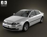 Volkswagen Phaeton 2011 3D Model