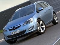 Opel Astra Sports Tourer (2011) 3D Model