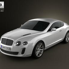 Bentley Continental Supersports 3D Model
