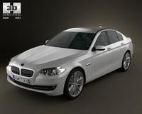 BMW 5 series 2011 3D Model