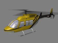 Jet Ranger V4 3D Model