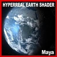 Hyperreal Dynamic Earth Shader Model 3D Model