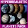 Hyperreal Solar System Pack - 3ds max 3D Model