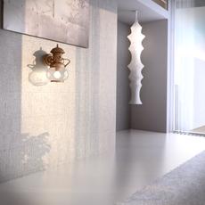 Ottone con Legno WindBra 3D Model