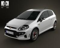 Fiat Punto Evo Abarth 3D Model
