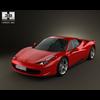 Ferrari 458 Italia 3D Model