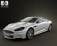 Aston-Martin DBS 2010 3D Model