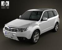 Subaru Forester 3D Model