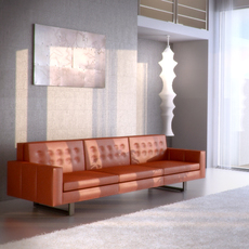 Room and Board Wells Sofa 3D Model