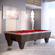 Pool Red Fabric 3D Model