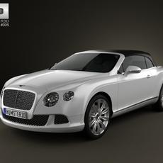 Bentley Continental GT Convertible 2012 3D Model
