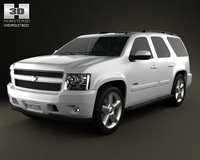 Chevrolet Tahoe 2010 3D Model