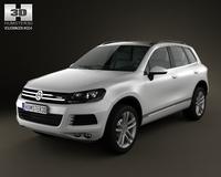 Volkswagen Touareg hybrid 2011 3D Model
