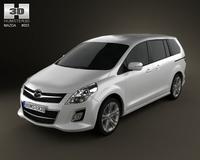 Mazda MPV 2010 3D Model