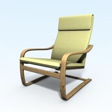 Relax armchair 3D Model