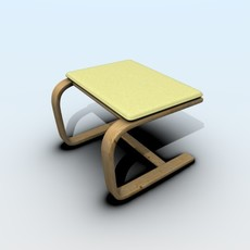 Ottoman 3D Model