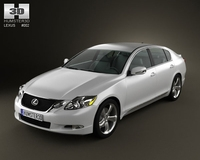 Lexus GS 2010 by 3D Model