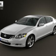 Lexus GS 2010 by 3D Model
