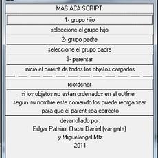 MAS ACA for Maya 1.0.0 (maya script)