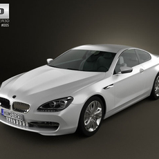 BMW 6 series Coupe 3D Model