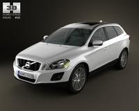 Volvo XC60 3D Model