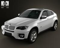 BMW X6 2011 3D Model