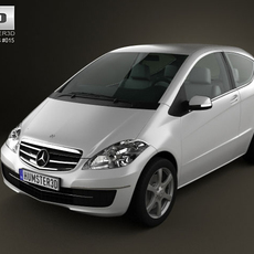 Mercedes-Benz A-Class Coupe 3D Model