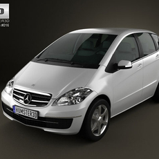 Mercedes-Benz A-Class 5door 3D Model