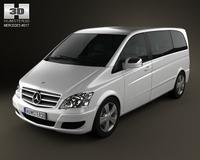 Mercedes-Benz Viano Compact 3D Model