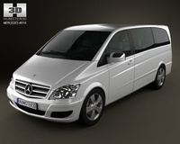 Mercedes-Benz Viano Long 3D Model
