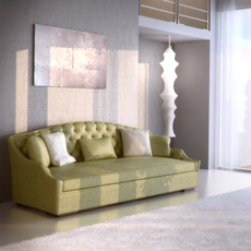 Kensington sofa sf6166 3D Model
