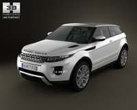 Range Rover Evoque 2011 3D Model