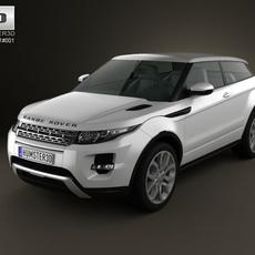 Range Rover Evoque 2011 3D Model