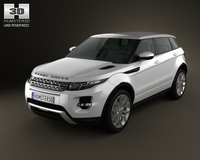 Range-Rover Evoque 2012 5-door 3D Model