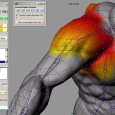visualWeight  for Maya 1.2.0 (maya plugin)