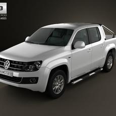 Volkswagen Amarok CrewCab 2011 3D Model