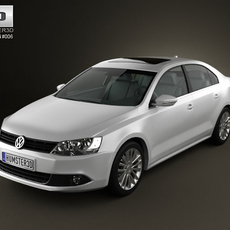 Volkswagen Jetta 2011 3D Model