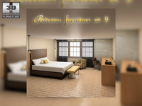 Bedroom Furniture 09 Set s 3D Model