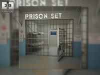 Prison Set 3D Model