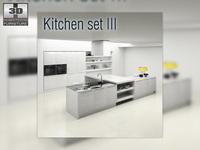 Kitchen P3 set 3D Model