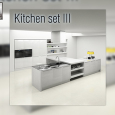 Kitchen P3 set 3D Model