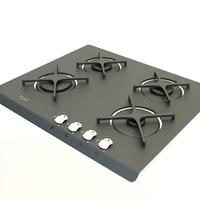 Gas cooker 2 3D Model