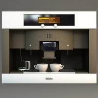 Miele Coffee Machine 3D Model