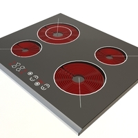 Electric cooker 2 3D Model