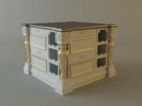 Kitchen cabinet bar 3D Model
