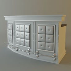 Kitchen bar 3D Model