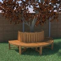 Tree seat 3D Model